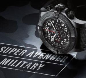 Breitling Super Avenger Military : 24 heures chrono