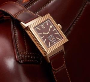 Grande Reverso Ultra Thin 1931 : cadran chocolat… suisse bien sûr !