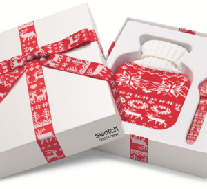 Swatch Red Knit : y aura-t-il de la neige à Noël ?