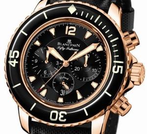 Fifty Fathoms Blancpain Chronographe Flyback : un chrono utilisable même sous l'eau