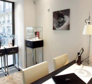 Corum : ouverture d'une boutique à Paris, rue Pierre Charron
