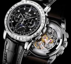 Patek Philippe orne de diamants son Chronographe à roue à colonnes avec quantième perpétuel
