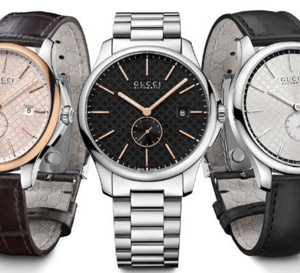 Gucci G-Timeless Slim : fine, mécanique et intemporelle !