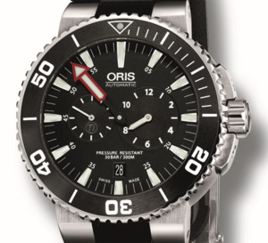 Oris Aquis Regulateur « Der Meistertaucher » : le charme du régulateur en version « plongeuse »