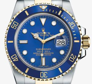 Rolex Submariner or jaune et acier : nouveau cadran pour la référence 116613 LB