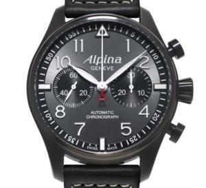 Alpina Startimer Pilot Chronographe Black Star : atterrissage réussi