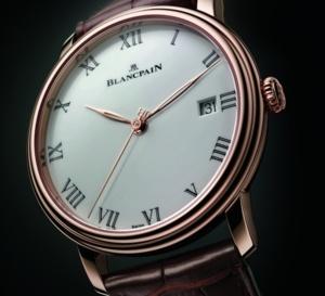 Blancpain nouvelle Villeret : belle élégante
