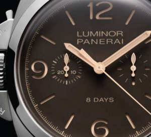Panerai Luminor 1950 Chrono Monopulsante Left-Handed 8 days Titanio – 47 mm : collector, encore !