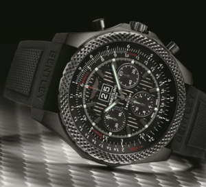 Breitling Bentley 6.75 Midnight Carbon : hommage au plus gros des moteurs Bentley