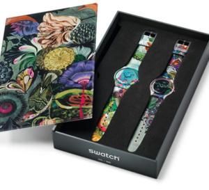 Swatch Art Specials : duos de montres en partenariat avec Olaf Hajek