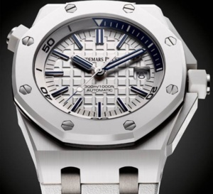 Audemars Piguet Royal Oak Offshore Diver 42mm céramique blanche