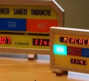 La Mémorielle : une horloge qui aide les personnes âgées à conserver la notion du temps