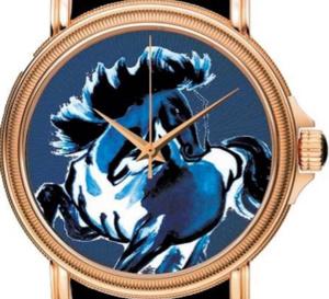 Paul Picot Atelier « l'art de l'émail » : 88 pièces en hommage à l'année du cheval
