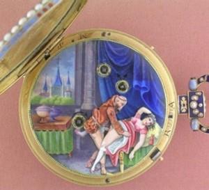 Montres polissonnes : une exposition de montres coquines interdite au moins de 16 ans…