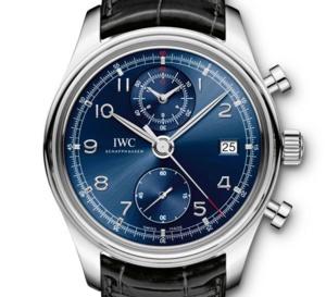 IWC Portugaise Chronographe Classique Edition « Laureus » : une affaire qui dure