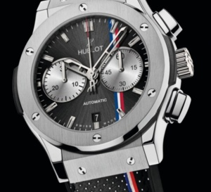 Hublot : Classic Fusion Chrono Tour Auto 2014 montre officielle du Tour Auto
