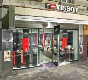 Tissot : ouverture d'une boutique à Zurich