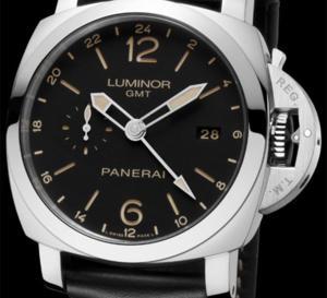 Officine Panerai Luminor 1950 GMT 24h Automatic Acciaio : une vraie « voyageuse » chez Panerai