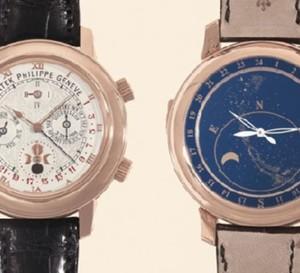 Une Patek Philippe vendue 930.000 euros à New-York par Antiquorum : un prix record pour une montre aux Etats-Unis
