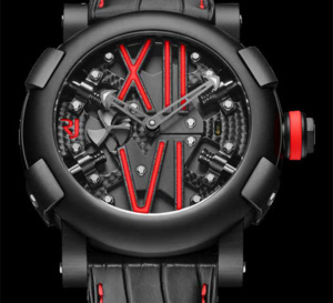 Romain Jerome Steampunk Auto Colours : du noir haut en couleurs !
