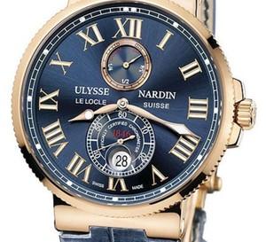 Maxi Marine Chronomètre 43 mm : Ulysse Nardin par à la conquête des océans