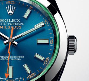Rolex : arrivée de la Milgauss GV cadran bleu « Z »