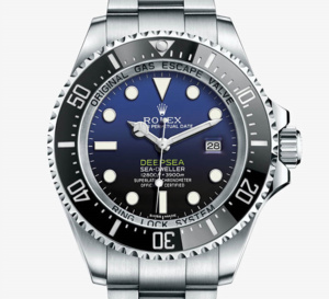 Rolex Deepsea D-Blue : la « James Cameron »