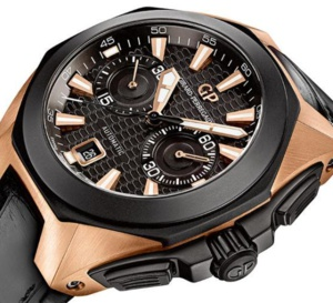 Girard-Perregaux Chrono Hawk : et voici la version or rose
