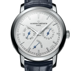 Vacheron Constantin Traditionnelle Date-Jour et Réserve de Marche Collection Excellence Platine