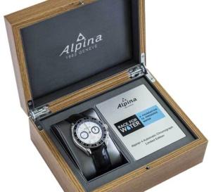 Alpiner 4 chronographe « Race for water »