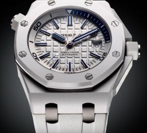 Audemars Piguet Royal Oak Offshore Diver : l'une des plus belles montres blanches...