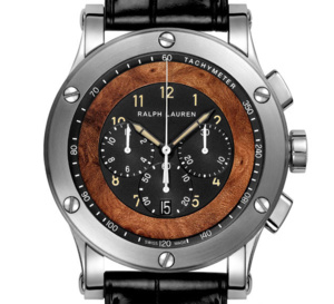Ralph Lauren Sporting Automotive Chronographe : quand l'inspiration vient de Bugatti