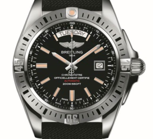 Breitling Galactic 44 : une belle sportive jour/date