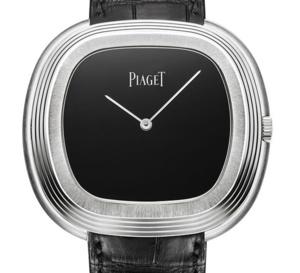 Piaget Black Tie inspiration vintage : or gris et onyx
