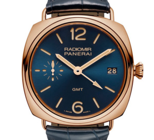 Panerai Radiomir 3 Days GMT Oro Rosso 47 : une belle globetrotteuse