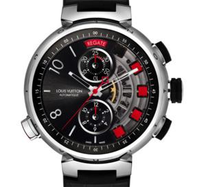 Louis Vuitton Tambour Spin Time Regatta Titane : une sportive de haute horlogerie