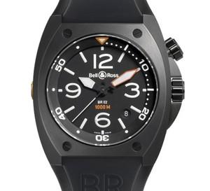 BR 02 Instrument Bell and Ross : une nouvelle montre de plongée professionnelle étanche à 1.000 mètres