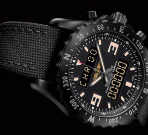 Breitling Chronospace Military : un look de guerrier