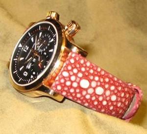 Le Galuchat, un cuir d'exception : la chronique du bracelet-montre d'ABP