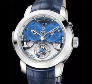 Ulysse Nardin Imperial Blue : tourbillon volant, répét'minute et sonnerie de l'heure au passage