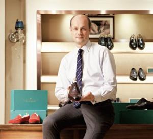 Portrait de Xavier Candat, cofondateur d'Upper Shoes et amateur de belles montres...