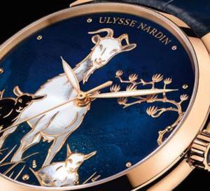 Ulysse Nardin Classico Goat : 2015, année de la chèvre