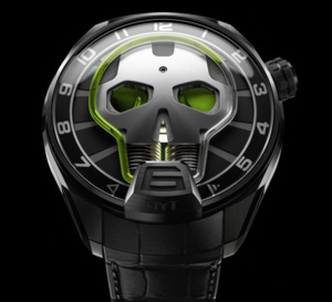 HYT Skull : heure crânienne
