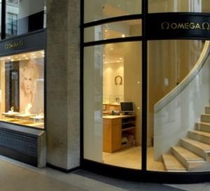 Omega ouvre une nouvelle boutique à Paris