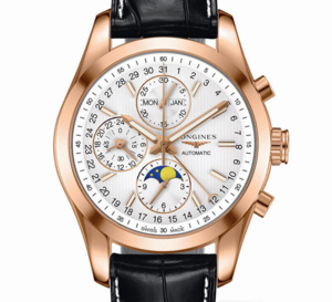 Longines Conquest Classic Moonphase : chic et indémodable