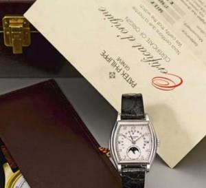 Genève : Sotheby's organise une vente aux enchères de 160 montres de collection le 13 novembre prochain