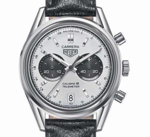 TAG Heuer : une nouvelle Carrera chrono Calibre 18 très vintage