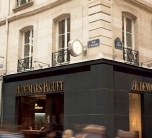 Audemars Piguet ouvre une nouvelle boutique dans la rue Saint-Honoré à Paris