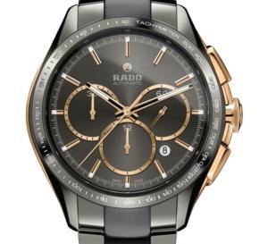 Rado HyperChrome Automatic Chronograph Tachymeter : lunette céramique et Superluminova