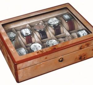 Syll : des coffrets à montres en bois de citronnier ou de macassar de 4 à 24 pièces